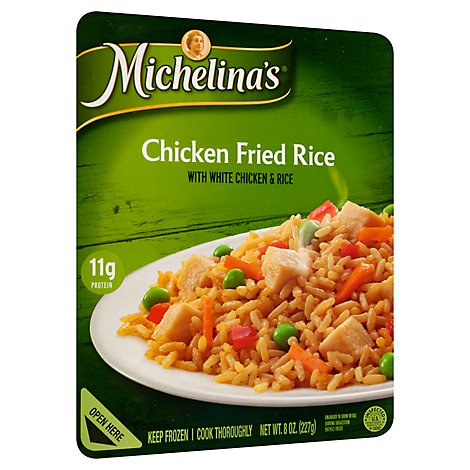 Michelinas Frozen Meal Chicken Fried Rice - 8 Oz