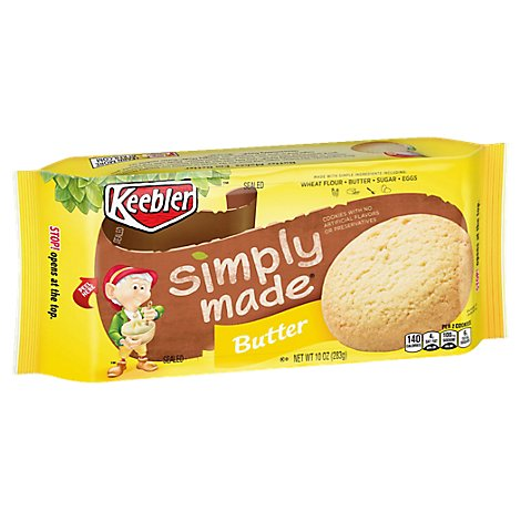 Keebler Cookies Simply Made Butter - 10 Oz