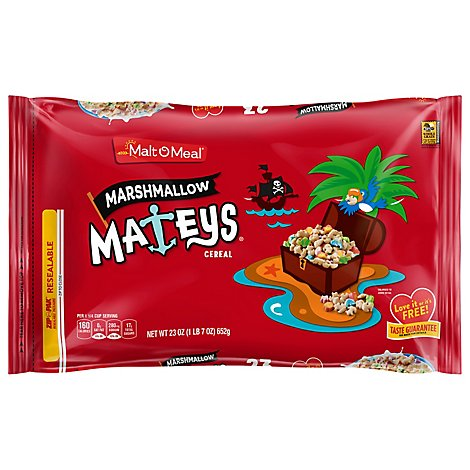 Malt-O-Meal Cereal Marshmallow Mateys - 23 Oz
