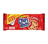 Chips Ahoy! Chewy Cookies Chocolate Chip Family Size! - 19.5 Oz