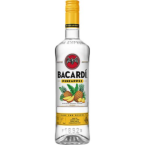 Bacardi Rum Pineapple 70 Proof - 750 Ml