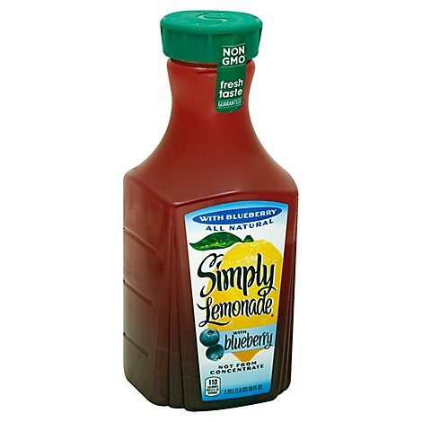 Simply Lemonade Juice With Blueberry - 59 Fl. Oz.