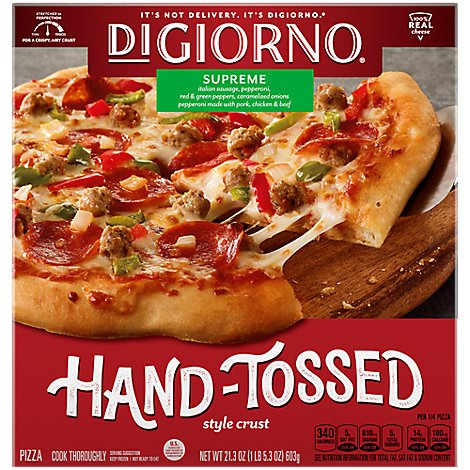 DIGIORNO Pizzeria! Pizza Supreme Speciale Frozen - 21.3 Oz