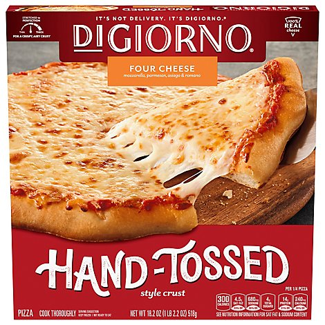 DIGIORNO Pizzeria! Pizza Pizzeria Style Crust Quattro Formaggi & Four Cheese Frozen - 18.3 Oz