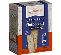 Absolutely Gluten Free Everything Flatbreads - 5.29 Oz