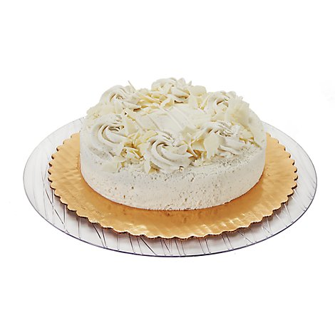 Bakery Cake White 10 Inch 1 Layer - Each