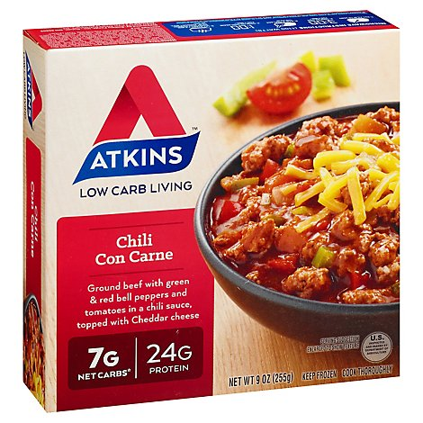 Atkins Chili Con Carne - 9 Oz