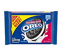 OREO Double Stuff Cookies Sandwich Chocolate Family Size! - 20 Oz