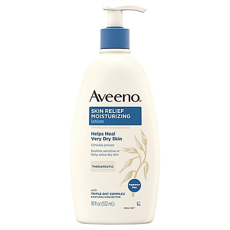 Aveeno Active Naturals Skin Relief 24 Hr Moisturizing Lotion - 18 Oz