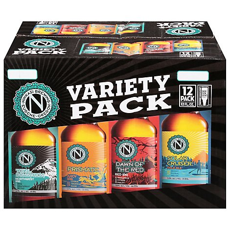 Ninkasi Variety Pack In Bottles - 12-12 Fl. Oz.