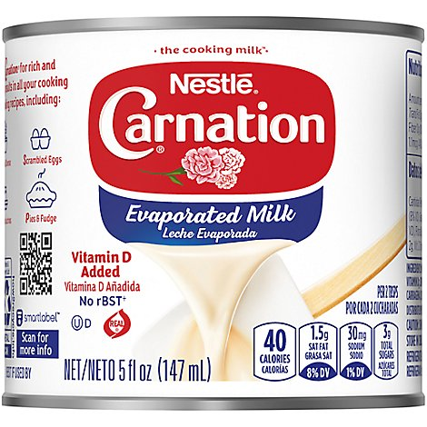 Carnation Evaporated Milk Vitamin D Added - 5 Fl. Oz.