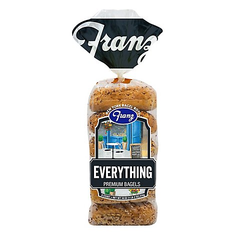 Franz New York Bagels Everything - 18 Oz