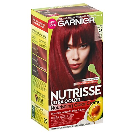 Garnier Nutrisse Ultra Color Light Intense Auburn R3 - Each