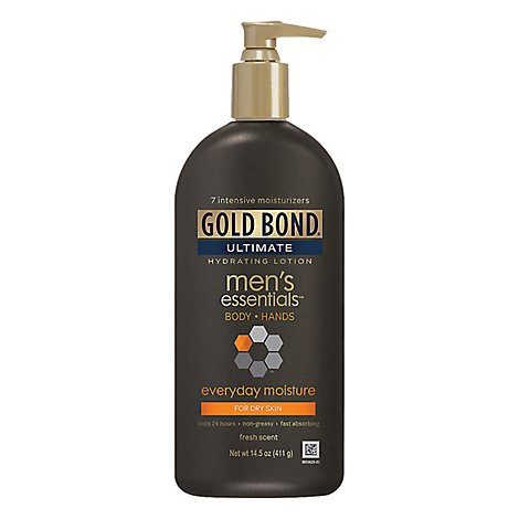 GOLD BOND Ultimate Lotion Hydrating Mens Essentials Everyday Moisture - 14.5 Oz