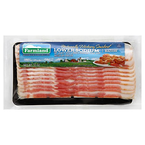 Farmland Low Sodium Bacon - 12 Oz