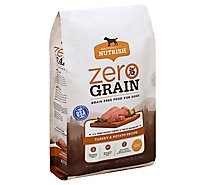 Rachael Ray Nutrish Zero Grain Food for Dogs Turkey & Potato Recipe Bag - 6 Lb