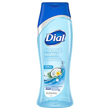 Dial Body Wash Ultra Fresh Hydrating Coconut Water & Bamboo Leaf Extract - 16 Fl. Oz.