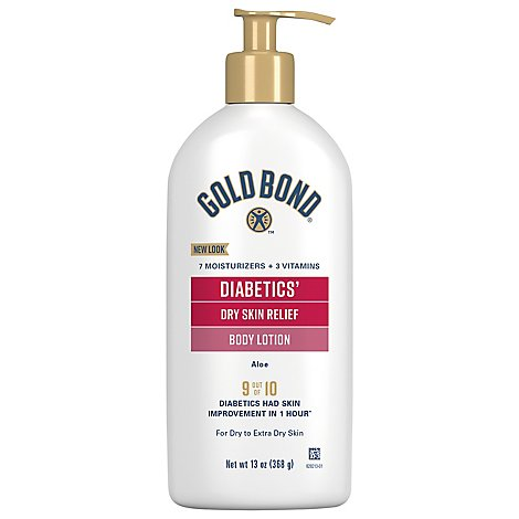 GOLD BOND Ultimate Lotion Hydrating Diabetics Dry Skin Relief - 13 Oz