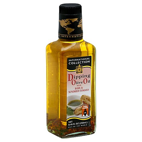 International Collection Olive Oil Dipping with Basil & Sundried Tomato - 8.45 Fl. Oz.