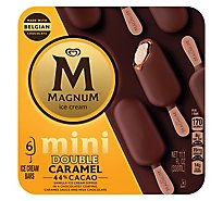 Magnum Ice Cream Bar Mini Double Caramel - 6 Count