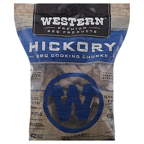 Western Hickory Cookin Chunks - 10 Lb