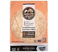 La Tortilla Factory Wraps Gourmet Ancient Grain Ivory Teff Bag 6 Count - 13.97 Oz