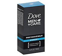 Dove Men+Care Post Shave Balm Hydrate - 3.4 Fl. Oz.
