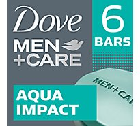 Dove Men+Care Body + Face Bar Aqua Impact - 6-4 Oz