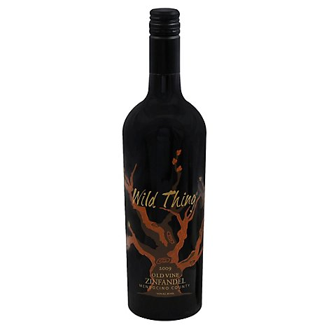 Wild Thing Carol Shelton Zinfandel Wine - 750 Ml
