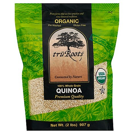 truRoots Organic 100% Whole Grain Quinoa - 32 Oz
