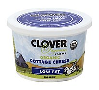Clover Organic Farms Low Fat Cottage Cheese - 16 Oz