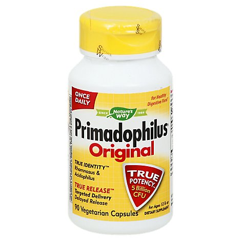 Natures Way Vit Primadophilus Tabs - 90 Count