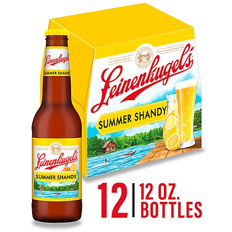 Leinenkugels Craft Beer Summer Shandy 4.2% ABV Bottles - 12-12 Fl. Oz.