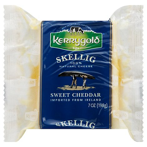 Kerrygold Natural Cheese Skellig Sweet Cheddar - 7 Oz