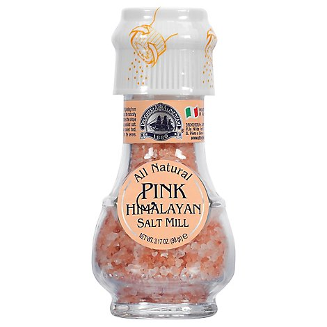 Drogheria & Alimentari All Natural Salt Mill Pink Himalayan - 3.17 Oz