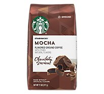 Starbucks Coffee Ground Flavored Mocha Bag - 11 Oz