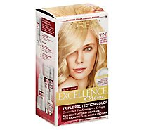 LOreal Excellence Creme Lightest Natural Blonde 9.5 Hair Color - Each