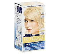 LOreal Excellence Creme Extra Light Ash Blonde 01 - Each