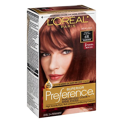 LOreal Preference Light Auburn 6r - Each