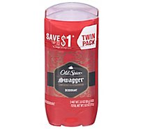 Old Spice Red Collection Deodorant Swagger Twin Pack - 2-3 Oz