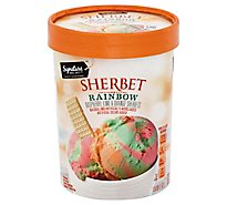 Signature SELECT Sherbet Rainbow - 1.5 Quart