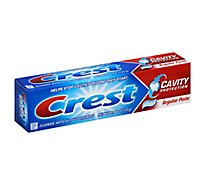 Crest Cavity Protection Toothpaste Fluoride Anticavity Regular Paste - 4.6 Oz