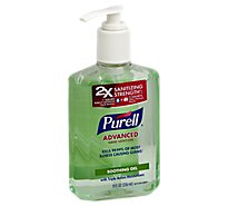 Purell Hand Sanitizer 2x Strength Refreshing Aloe - 8 Fl. Oz.