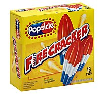 Popsicle Ice Pops Firecracker - 18 Count