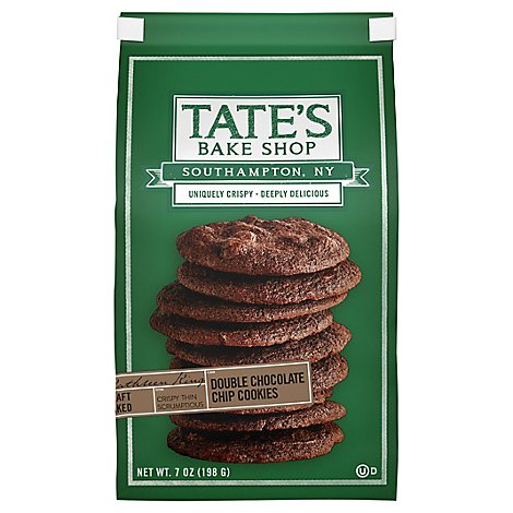 Tates Bake Shop Cookies Double Chocolate Chip - 7 Oz