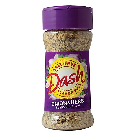 Dash Seasoning Blend Salt Free Onion & Herb - 2.5 Oz