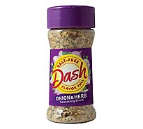 Mrs. Dash Seasoning Blend Salt-Free Onion & Herb - 2.5 Oz