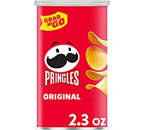 Pringles Potato Crisps Chips Original Single Serve Grab N Go - 2.3 Oz