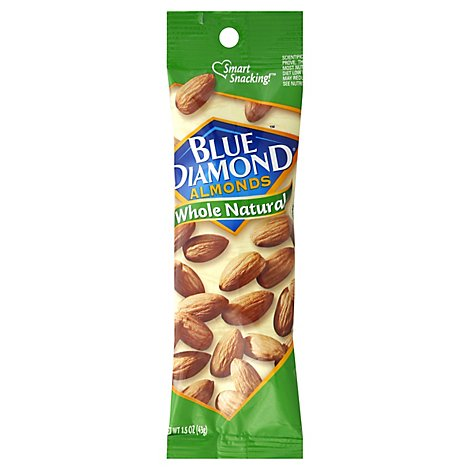 Blue Diamond Almonds Whole Natural - 1.5 Oz