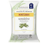 Burts Bees Towelettes Facial Cleansing with Cotton Extract - 30 Count